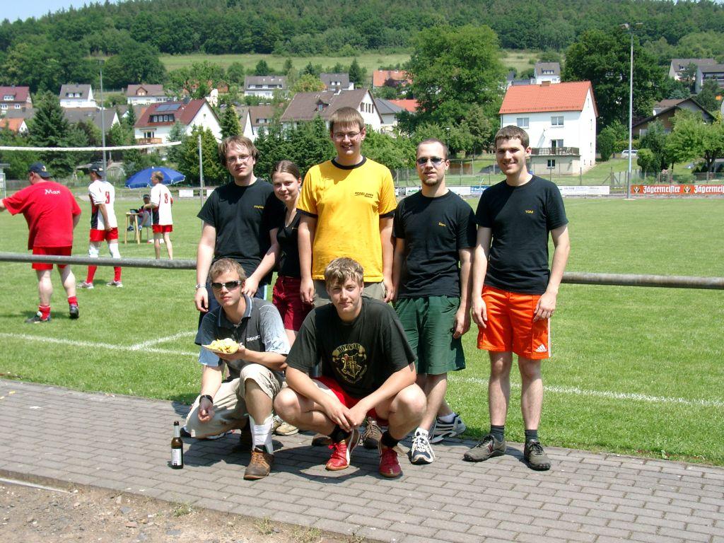 Schwachstrom-Volleyball